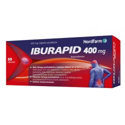 Iburapid 400mg 50 tabletek