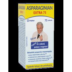 Uniphar Asparaginian Extra 75 tabletek