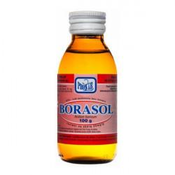 Borasol 30mg/g Roztwór na skórę 100g