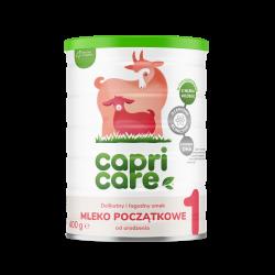 Capricare 1 Mleko początkowe oparte na mleku kozim od urodzenia 400g