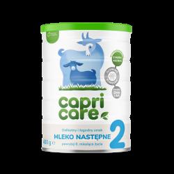 Capricare  2 Mleko następne oparte na mleku kozim powyżej 6. miesiąca życia