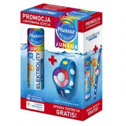 Plusssz Junior Elektrolity Complex 20 tabletek + Opaska UV