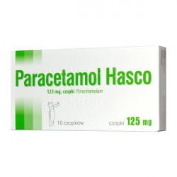 Paracetamol Hasco 125mg 10 czopków