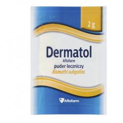 Dermatol Aflofarm Puder leczniczy 2g 1 saszetka