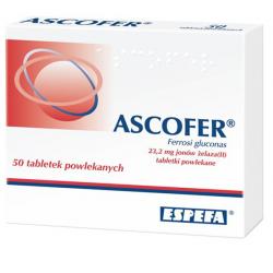 Ascofer 200mg 50 tabletek