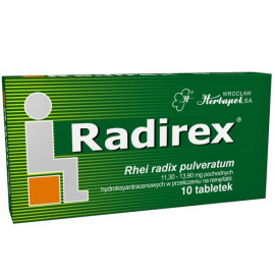 Radirex 10 tabletek