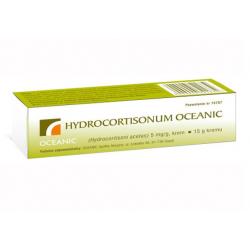 Hydrocortisonum Oceanic 5mg/g Krem 15g