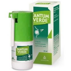 Tantum Verde 1,5mg/ml Aerozol do stosowania w jamie ustnej i gardle 30ml