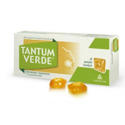 Tantum Verde 3mg Smak miodowo-pomarańczowy 20 pastylek
