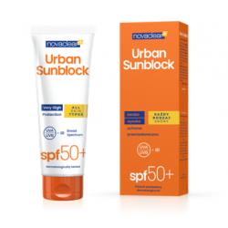 Novaclear Urban Sunblock Krem ochronny SPF 50+ Każdy rodzaj skóry 125ml Diagnosis