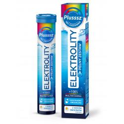 Plusssz Elektrolity + 100% Multiwitamina 24 tabletki