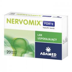 Nervomix Forte 20 kapsułek Data ważności: 31.07.2021r