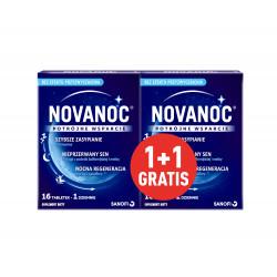 Novanoc 32 tabletki zestaw 16 + 16 tabletek