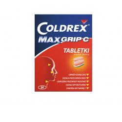 Coldrex MaxGrip C 500mg + 25mg + 38mg + 5mg 24 tabletki