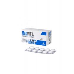 Magvit B6 48mg + 5mg 50 tabletek