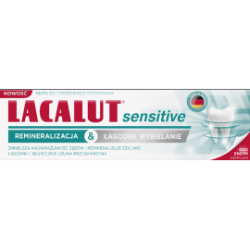 Lacalut Sensitive Remineralizacja & Łagodne Wybielanie Pasta do zębów 75ml