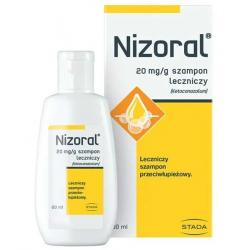 Nizoral Szampon leczniczy 20mg/g 60ml