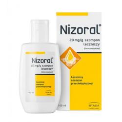 Nizoral Szampon leczniczy 20mg/g 100ml