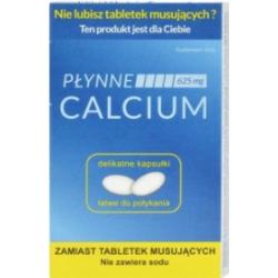 Calcium Płynne do połykania 10 kapsułek