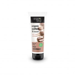 Organic Shop Peeling do twarzy oczyszczający delikatny Poranna Kawa 75ml