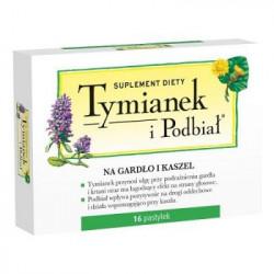 Tymianek i Podbiał  16 tabletek Perrigo
