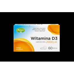 Herbapol Witamina D3 2000 j.m. 60 tabletek