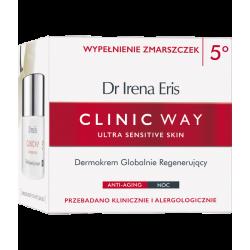 Dr Irena Eris Clinic Way 5 Dermokrem globalnie regenerujący na noc 50ml