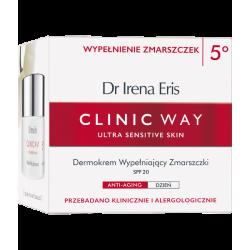 Dr Irena Eris Clinic Way 5 Dermokrem wypełniający zmarszczki SPF 20 na dzień 50ml