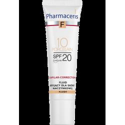 Pharmaceris F Fluid kryjący dla skóry naczynkowej SPF 20 10 Porcelain 30ml
