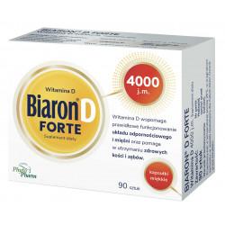 Biaron D Forte 4000 j.m. 90 kapsułek