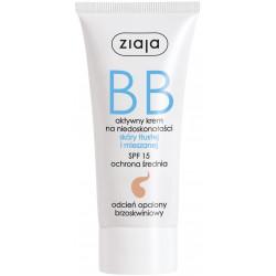 Ziaja Krem BB do skóry tłustej i mieszanej odcień opalony- 50 ml