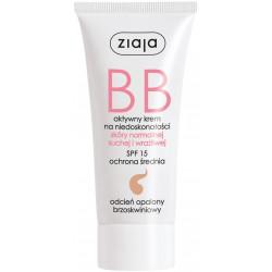 Ziaja Krem BB do skóry normalnej, suchej i wrażliwej odcień opalony- 50 ml