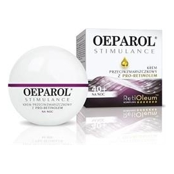 Oeparol Stimulance krem przeciwzmarszczkowy z pro-retinolem na noc 40 +.50 ml