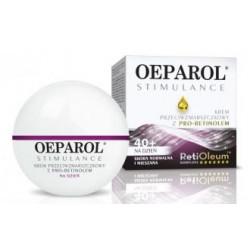Oeparol Stimulance krem przeciwzmarszczkowy z pro-retinolem na dzień skóra sucha 40 +,50 ml