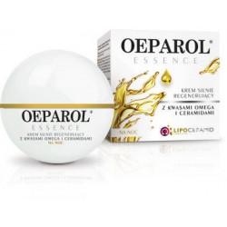 Oeparol Essence silnie regenerujący krem z kwasami omega i ceramidami na noc,50 ml