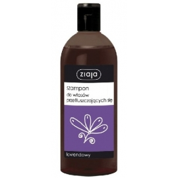 Ziaja, szampon, lawendowy, do włosów przetłuszczających się, 500 ml