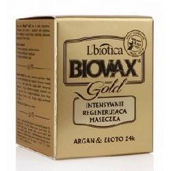 BIOVAX GLAMOUR GOLD MASECZKA DO WSZYSTKICH RODZAJÓW WŁOSÓW 125 ml